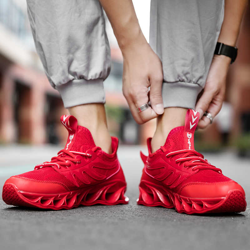 גברים נעליים יומיומיות גברים tenis סניקרס זכר כבוי לבן נעלי מהירות לסרוג מקורי יוקרה מאמן הריצה מירוץ נעלי סניקרס