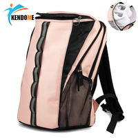 Women Gym Bag Pink Sport Bag For Women Fitness Waterproof Reflective Backpack Tennis Badminton Bag Softback Travel Bag Sac Sport