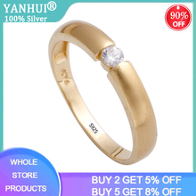 With Certificate 14K Gold Pt Silver 925 Ring Couples Jewelry 1ct Lab Diamond Engagement Rings Lover Wedding Rings for Men Women