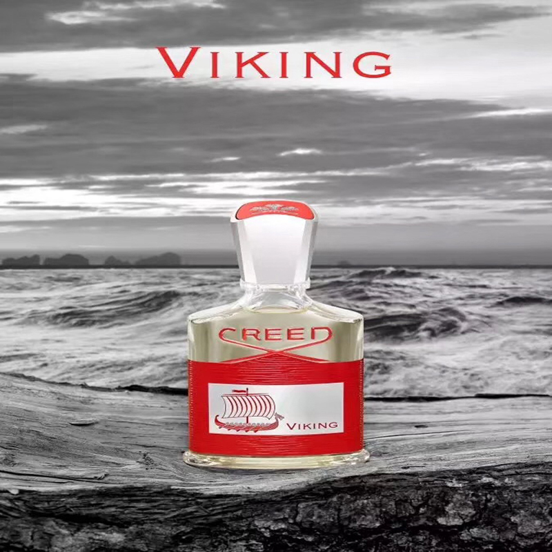 High Quality Creed Viking Man Perfume Eau De Parfume Woody Aromatic Spray Durable Fragrance