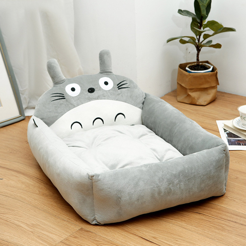 Dog bed Removable And Washable Teddy Cartoon Pet Nest Pet Ssupplies Large dog Golden Dog Bed Mat Pet Accessories 7