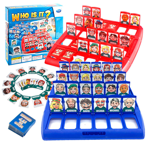 Who Is It Classic Board Game Funny Family Guessing Games Kids Children Indoor Game Gift Parent-Child Interactive Educational Toy