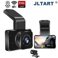 Auto-Video-Recorder Car Dvr Dash-Cam 3inch Night-Vision GPS/WIFI Dual-Lens 1080P Built-In
