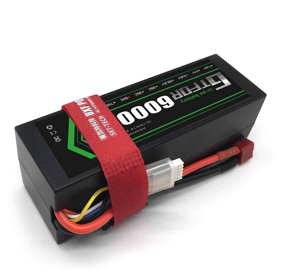 GTFDR リポ 4S バッテリー 14.8V 6000mah 50C T ディーンズ XT60 EC5 XT90 XT90-S ハードケースのための 1/10 1/8 バギー車飛行機ボート Rc