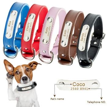 Free Engrave Customized Dog Collar Personalized ID Collar Engrave Name Phone Number Free Engraving For Puppy Chihuahua 30 12storeez сапоги с острым мысом на низком каблуке