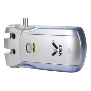 Image 2 - Wafu HF 010 Wifi APP חכם מנעול אלחוטי אלקטרוני מנעול דלת טלפון בקרת מנעול בלתי נראה שלט רחוק מקורה מגע מנעולים