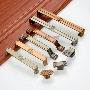New Arrival 10PCS European Solid Cabinet Door Handles Cupboard Wardrobe Dresser Drawer TV Cabinet Pulls Handles & Knobs