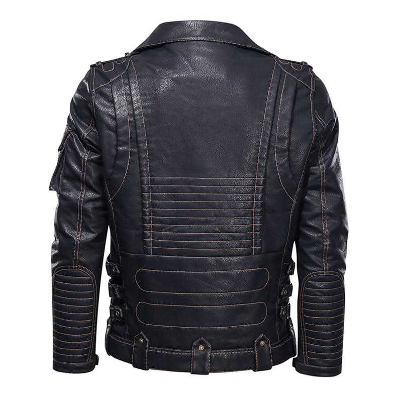 mens pu leather jacket02