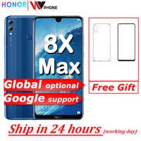 Honor 8X Max 7.12'' big Screen OTA update Smartphone Dual Camera Android 8.1 Octa Core 4900mAh battery fingerprint ID