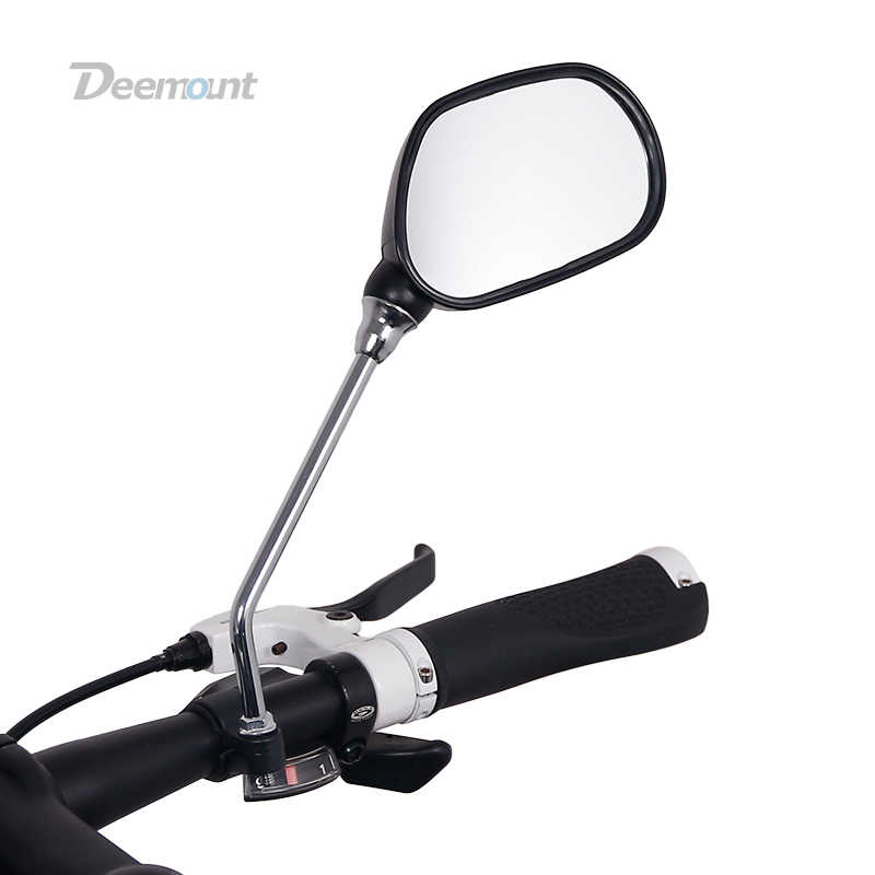 1Pair Bicycle Rear View Mirror Bike Handlebar Wide Range Back Sight Safety US