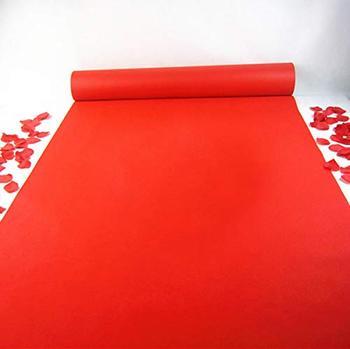 3M 5M 10M White Carpet Wedding Aisle Runner White Red Aisle Runner Rug Runner indoor Outdoor Weddings Party Thickness:0.8 mm 8