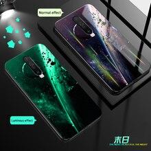 Aurora Dazzle Luminous Glass Case For Xiaomi