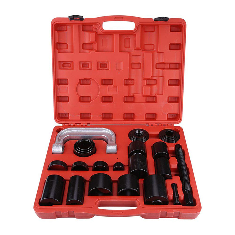 21Pcs Universal Ball Joint Separator Auto Repair Service Tool Remover Master Adapter 4x4s Cars Press-Fit & Brake Anchor