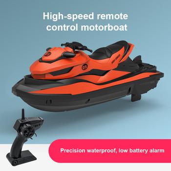 2 4G Mini pilot łódź zabawka elektryczna RC łódź motorowa pływać w wodzie letnia woda rozpryskiwania łódź elektryczna zabawki dla dzieci na prezent tanie i dobre opinie Liplasting CN (pochodzenie) Z tworzywa sztucznego as show Electric 4 kanałów Dorośli 8 lat 14 lat Ready-to-go