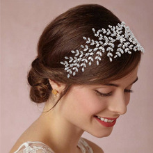 Hadiyana Bride Crown Headpiece Barrettes Jewelry Hair-Accessories Zircon Wedding-Tiaras