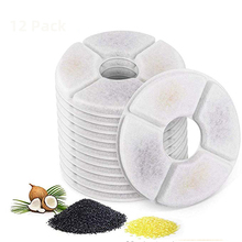 ACTIVATED-CARBON-FILTER Fountain-Dispenser Flower Cat Water-Drinking for Pet-Dog Round