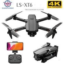 Sharefunbay zangão 4k hd lente dupla posicionamento visual 1080p wifi fpv zangão altura preservação rc quadcopter prática zangão