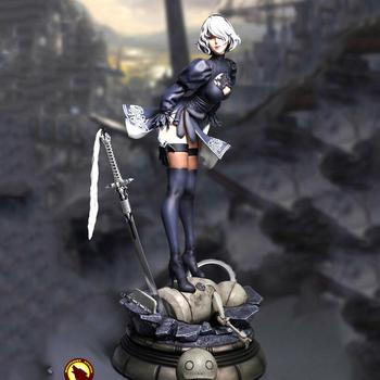 collectible MLS002 1/4 PS4 Game NieR Automata 2B YoRHa No. 2 Type Statue Action Figure Model 51 cm for Fans Gifts