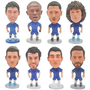 2020 Football Star Movable Doll European Cup Club Player Figures 6.5cm PVC Toys Souvenir For Fans