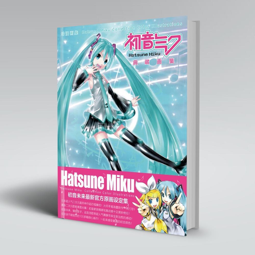Hatsune Miku Colorful Book Art Book Collection Color Illustratio Paintings Anime Artbook