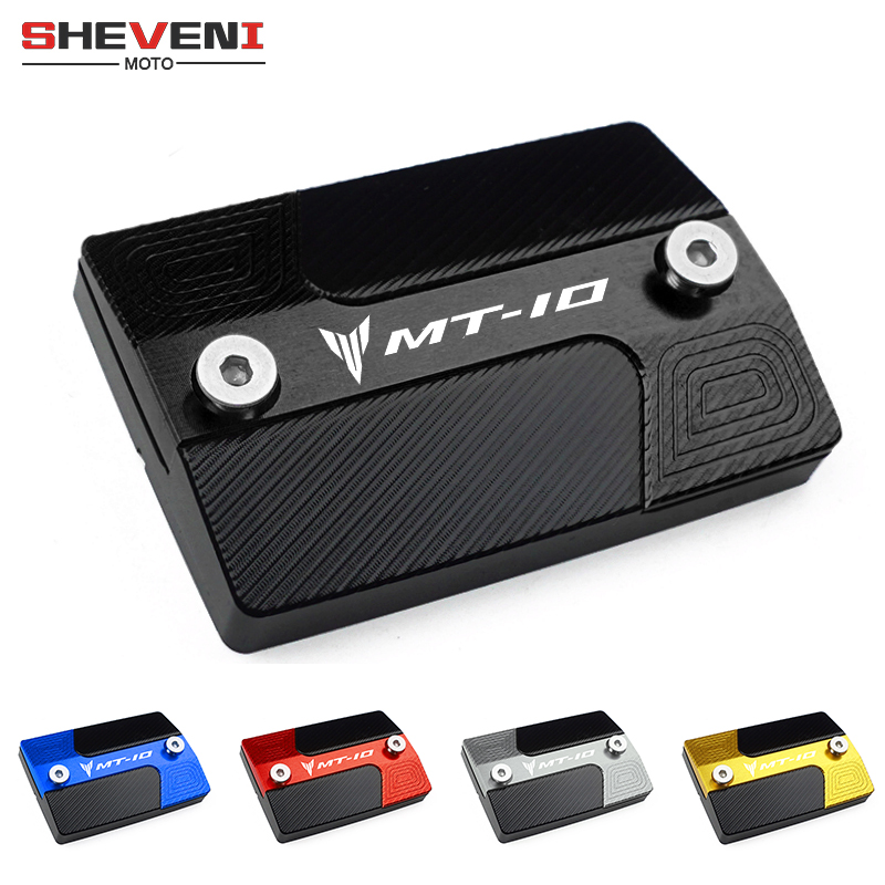 Lastest Motorcycles Accessories Front brake Fluid Cylinder Master Reservoir Cover Cap For <font><b>Yamaha</b></font> MT10 <font><b>MT</b></font> <font><b>10</b></font> <font><b>MT</b></font>-<font><b>10</b></font> 2015-2019 2018 image