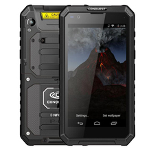CONQUEST S10 NFC IP68 shockproof mobile phone Walkie Talkie Strong Flashlight MTK6753 Octa Core 3GB +32GB 4G Rugged Smartphone