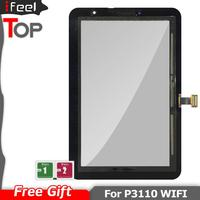 Para Samsung Galaxy Tab 2 P3100 P3110 GT P3100 GT P3110 Digitalizador de pantalla táctil de vidrio Panel táctil de teléfono móvil Teléfonos y telecomunicaciones -