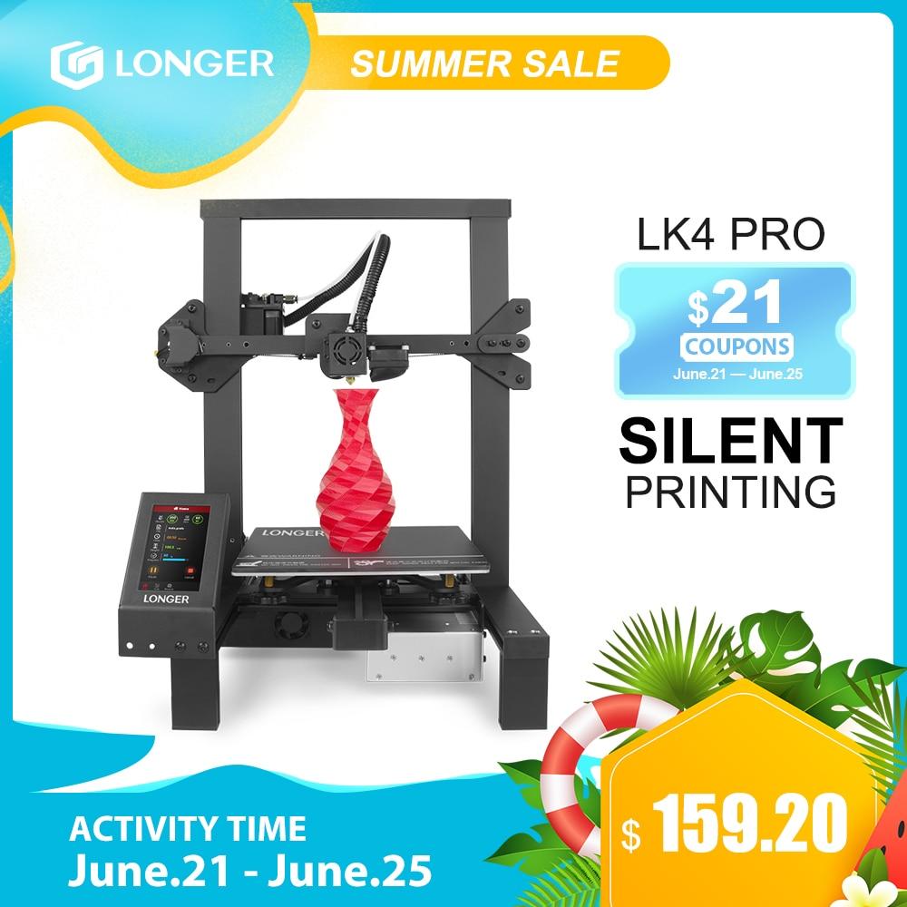 LONGER LK4 Pro FDM 3D принтер с открытым исходным кодом 4,3