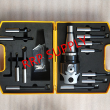 Boring-Head-Set NT40/ISO40 with Shank And 12pcs Taper-F1-18-75mm