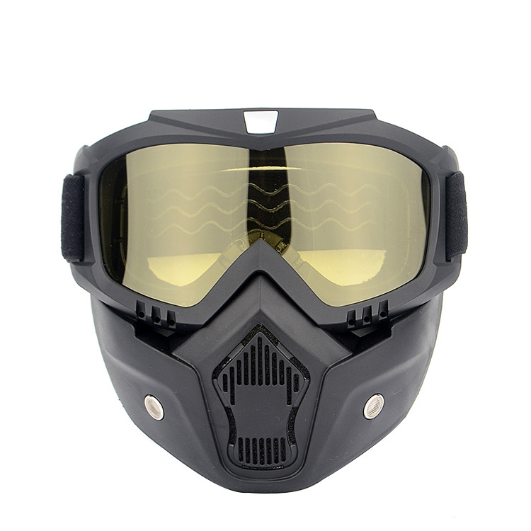 Knight Glasses Retro Harley Mask Goggles Scrambling Motorcycle Race Car Eye-protection Goggles Riding Cool Helmet Equipment