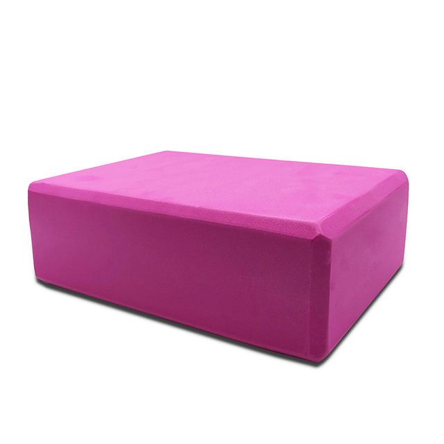 10Colors EVA Yoga Block Brick 120g Sports Exercise Gym Foam Workout Stretching Aid Body Shaping Health Training Fitness Sets T 4