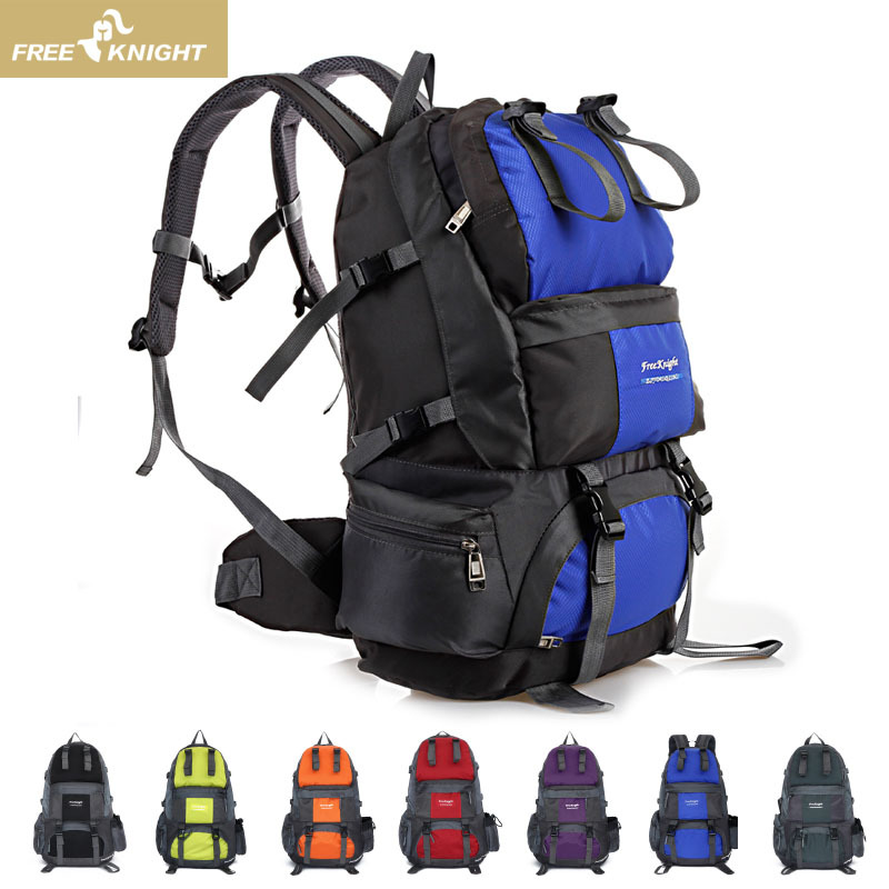 Manufacturers Direct Selling 50L Waterproof Outdoor Couples Mountaineering Bag Large Capacity Outdoor Sports Backpack