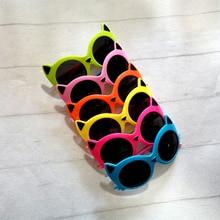Children Sunglasses Fashion PC Cat Girls for Boys Uv-Protect-Eyes Kid Paw-Shape Multicolor