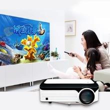 Умный мобильный wifi проектор android full HD встроенный светодиодный проектор 1080P для домашнего кинотеатра Поддержка 4K