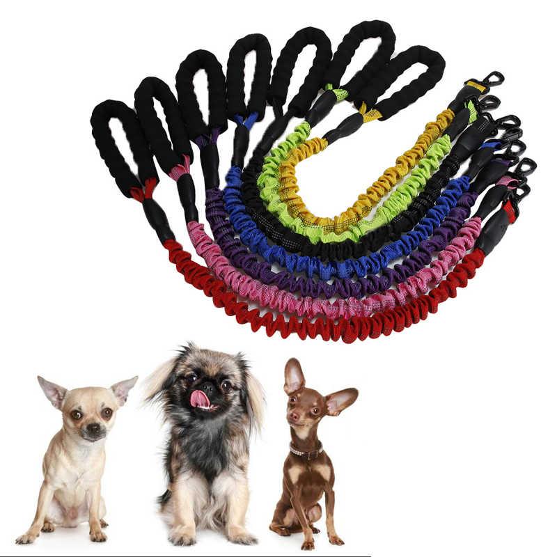 Собака эластичный поводок для собак длиной веревка малых и средних собак поводок для собака Кот Щенок из мягкой дышащей ткани Чихуахуа ходьбе поводки для бега