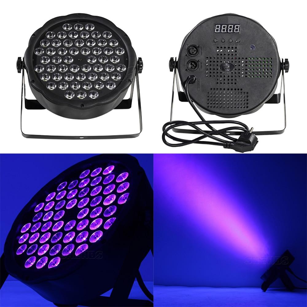 1PCS Led Par Light 54x3W DJ Par Ultraviolet Wash Disco Light 12x3W UV Mini Led Plastic Party Event Stage Effect Dance Home 4