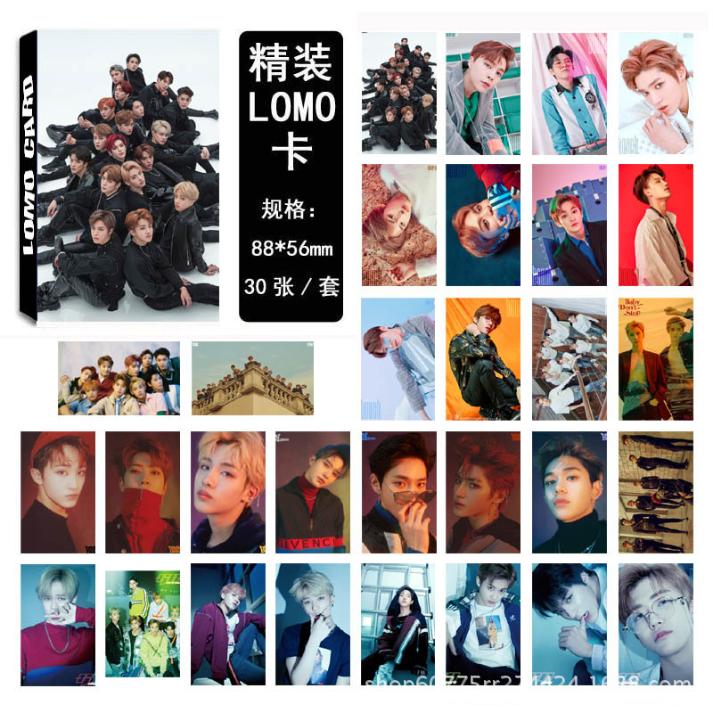 30Pcs/set K-POP NCT 127 Photocard Good Quality K-pop NCT U DREAM HD Lomo Cards Fashion New Arrivals