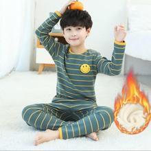 Girls Pajamas Suit Pants Clothing Boys Sleepwear Long-Sleeve Baby Kids Cotton Children