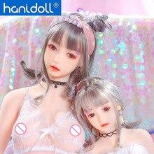 Hanidoll Silicone Sex Dolls 100cm Love Doll Metal Skeleton TPE Full Sized Realistic Oral Anal Vagina Breast Masturbator doll