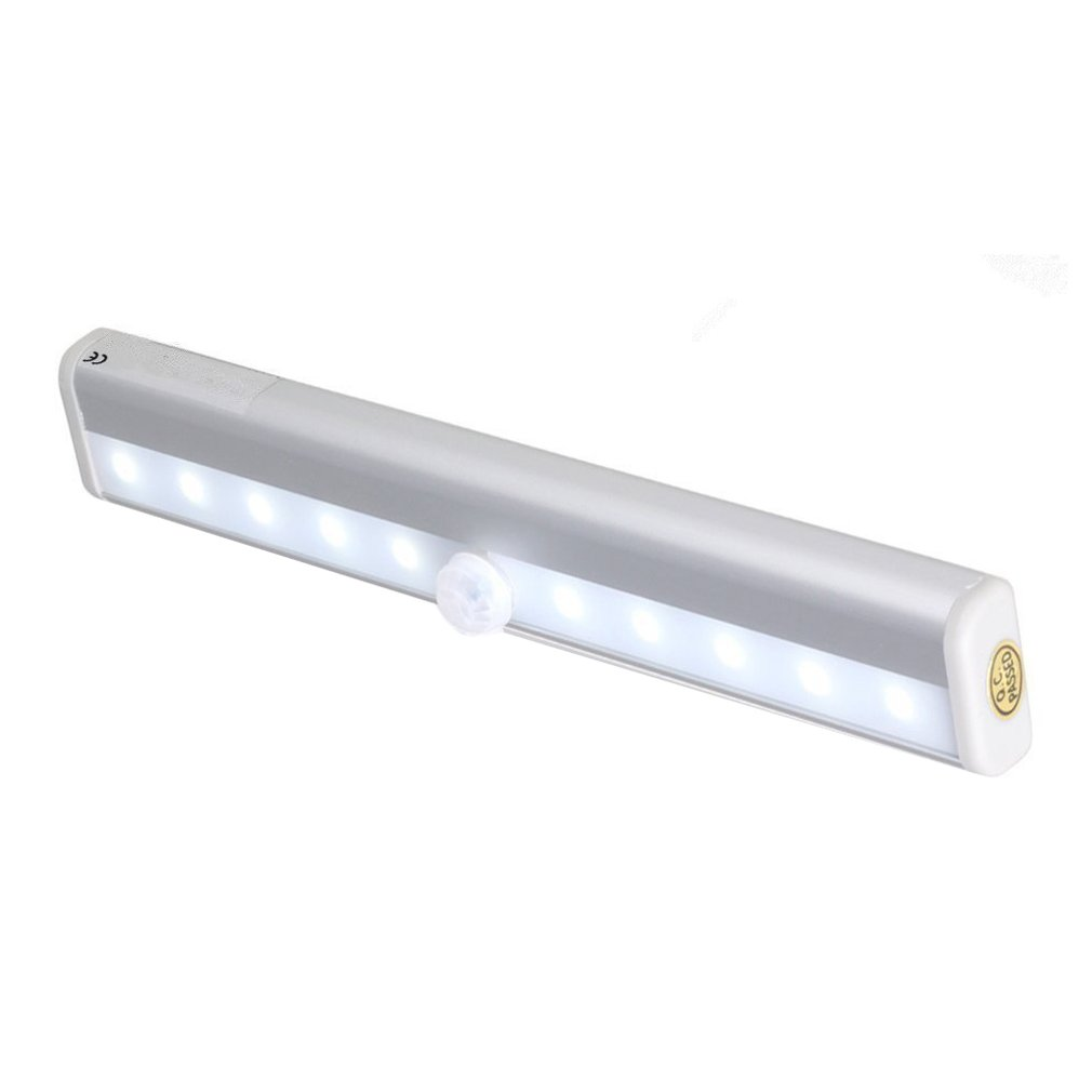 Smart Led Night Light Human infrared Induction Sensor Light Battery Recharging L
