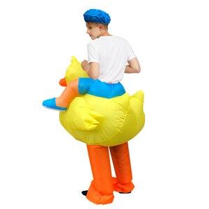 Image 3 - Gorący Cosplay kaczka nadmuchiwany kostium jeździć na wannie wyjść z kąpielą pływanie piękne przebranie dla interesującego dorosłego mężczyzny