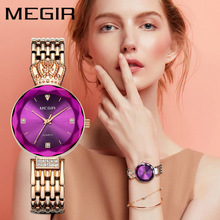 Women Watches Ladies Temperament Watch Top Brand Luxury Silver Bracelet Clock Rhinestone