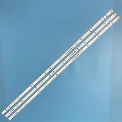 (Nowy zestaw) 3 sztuk 8LED 850mm listwa oświetleniowa led dla LG 43UH6030 43UF640 HC430DGN-SLNX1 UF64_UHD_A 43LH60FHD EAV63192501