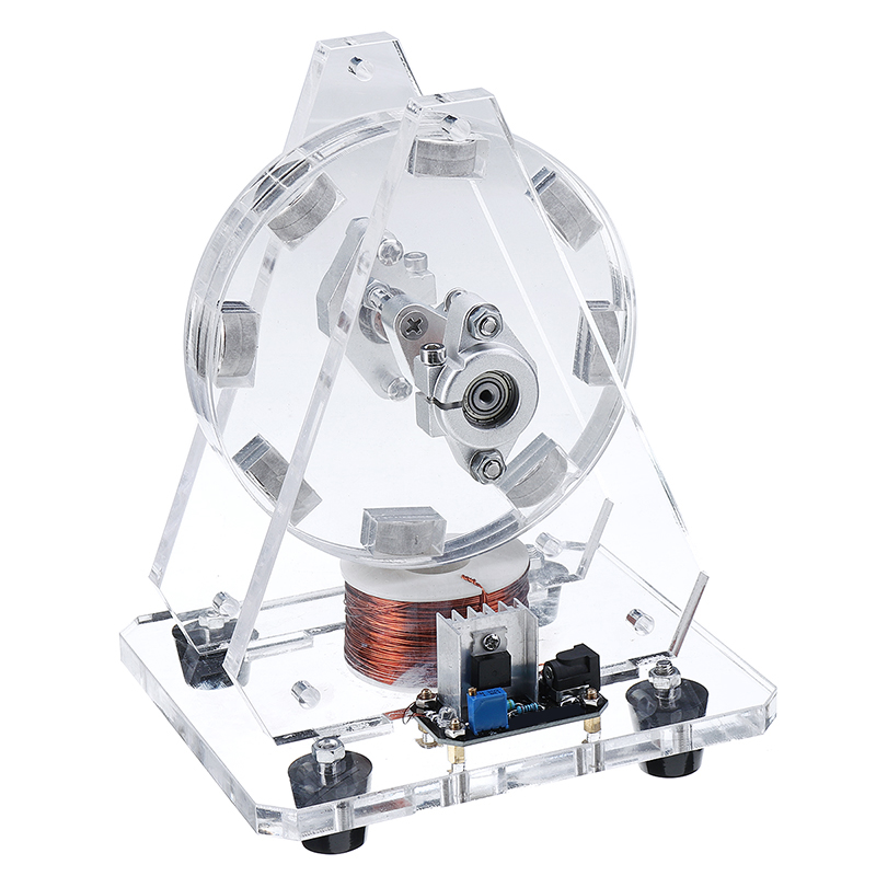 Heißer STARK-35 Bedini Motor Bürstenlosen Modell Magneten Pseudo Perpetual Motion Disc Motor 24V Wissenschaft Spielzeug Uns Stecker
