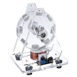 Hot STARK-35 Bedini Motor Borstelloze Model Magneten Pseudo Perpetual Motion Disc Motor 24V Wetenschap Speelgoed Ons Plug