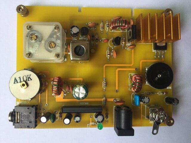 マイクロパワー中波送信機と鉱石ラジオ家庭用