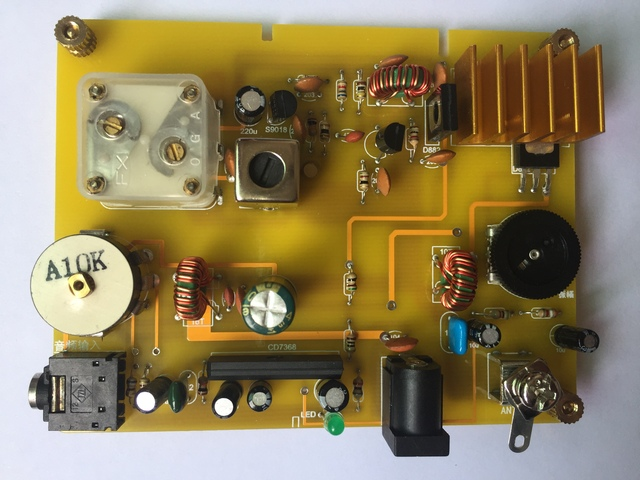 Micro Power Medium Wave Transmitter and Ore Radio for Home Use