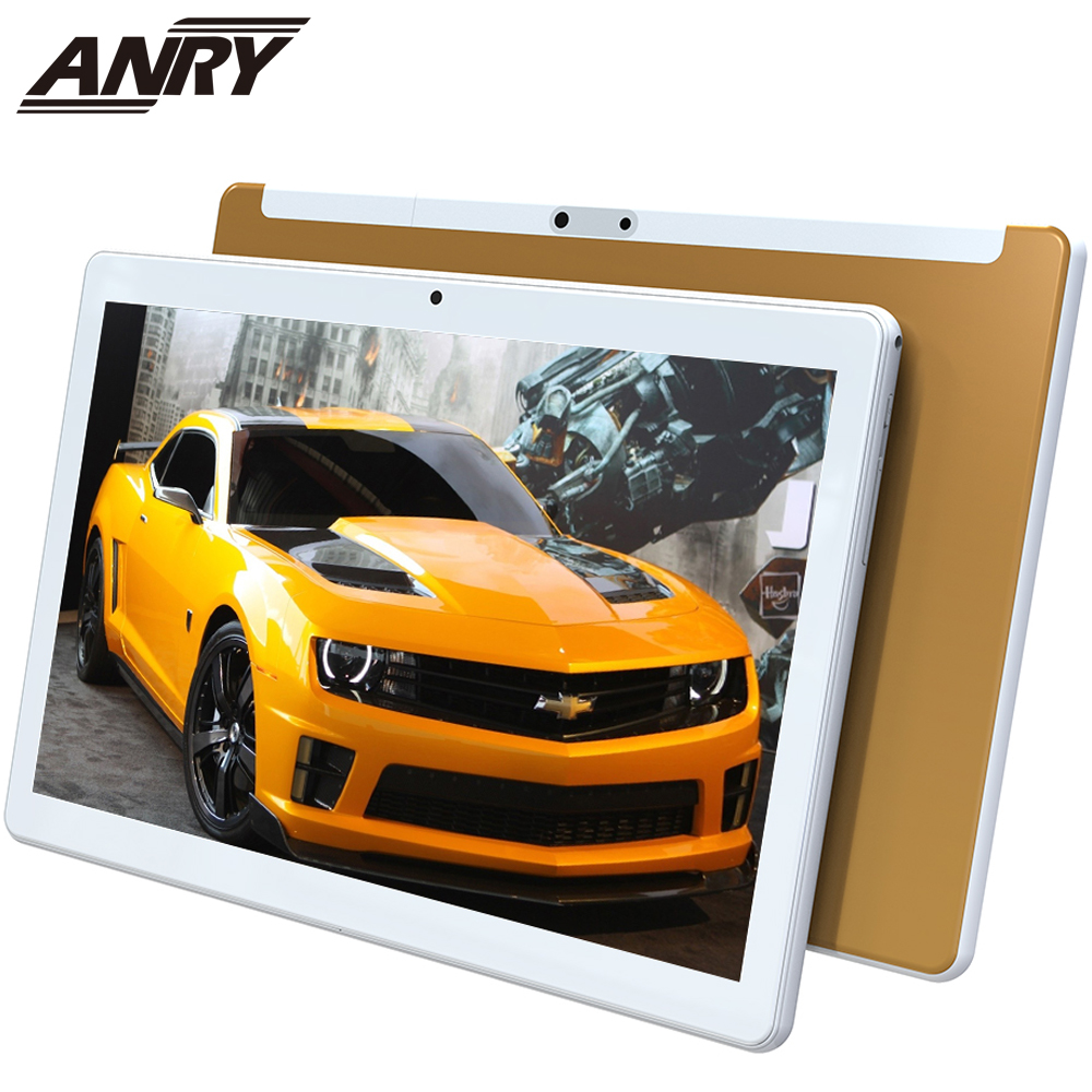 ANRY RS10 2.5D Arc Glass Android 7.0 10 Inch Tablet Pc 3G Phone Call 16GB ROM Wifi GPS Bluetooth Quad Core Gift For Kid
