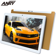 цена на ANRY RS10 2.5D Arc Glass Android 7.0 10 Inch Tablet Pc 3G Phone Call 4GB RAM 32GB ROM Wifi GPS Bluetooth Quad Core Gift For Kid