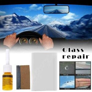 Image 1 - Auto Voorruit Voorruit Glas Reparatie Hars Set Kit Auto Voertuig Gebroken Raam Fix Repair Tool Accessoires